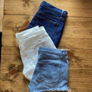 GAP Jean Shorts (3pairs)